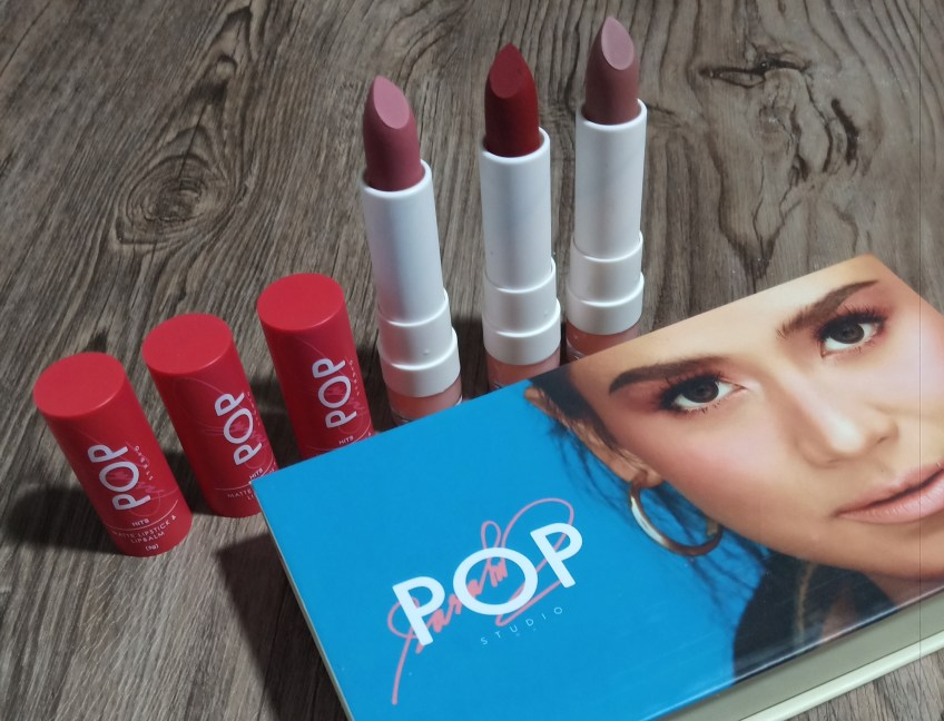 SG Pop Studio Hits Matte Lipstick and Lipbalm Swatches and Review