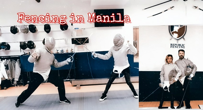 Republic Fencing in Manila