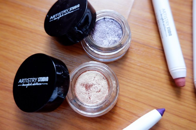 Shimmering Cream Eyeshadow Artistry Studio Bangkok Edition makeup line