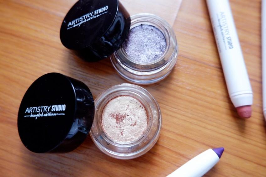 Shimmering Cream Eyeshadow Artistry Studio Bangkok Edition makeup line