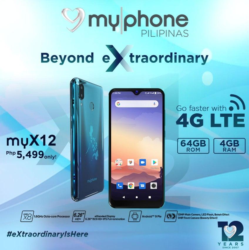 My Phone My X12