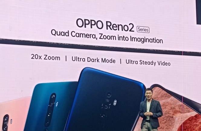 Oppo Reno 2 20x zoom price and specs
