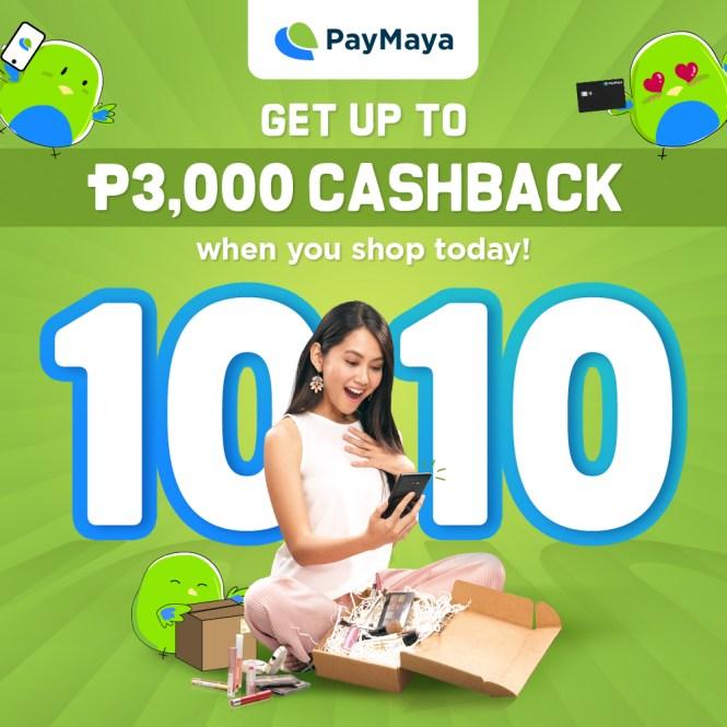 PayMaya October promo