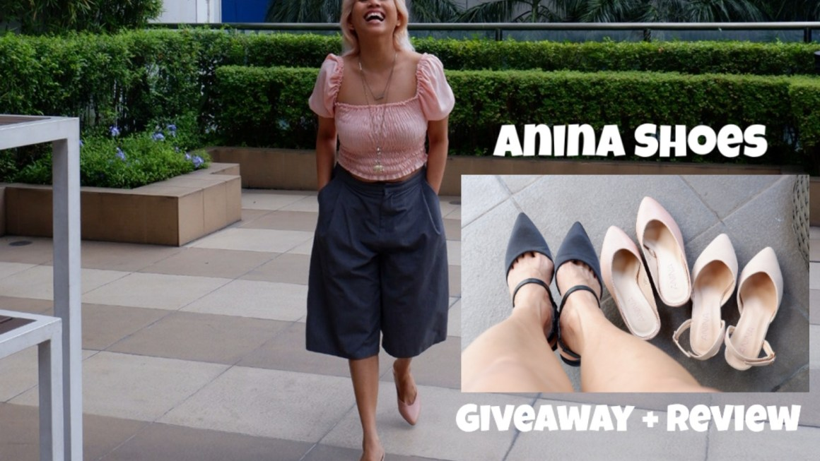 Anina Shoes Review and Giveaway