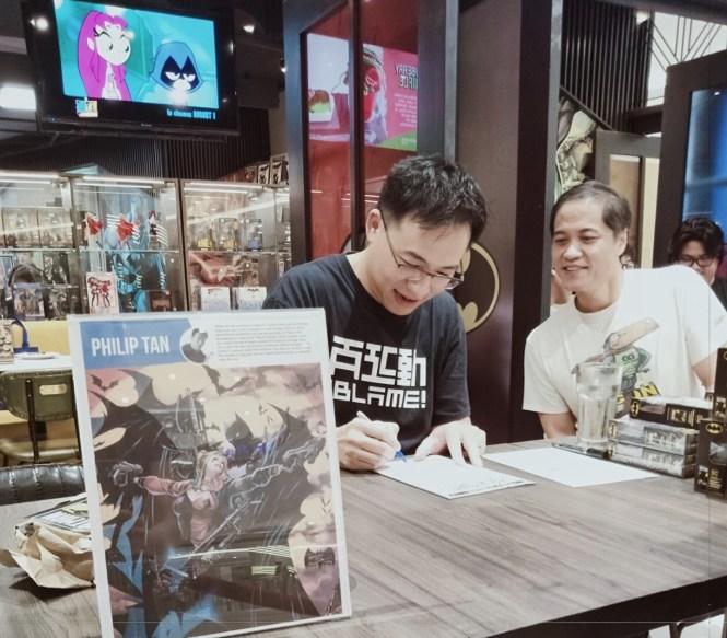Philip Tan DC Comic Batman illustrator