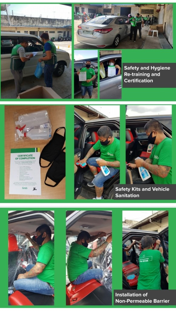 GrabCar Starts Operation in June 1 with Sticter Safety Protocols for Passengers and Drivers with #GrabProtect