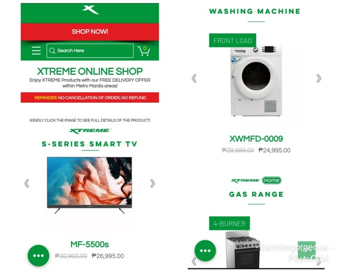 Xtreme Appliances Online Shop