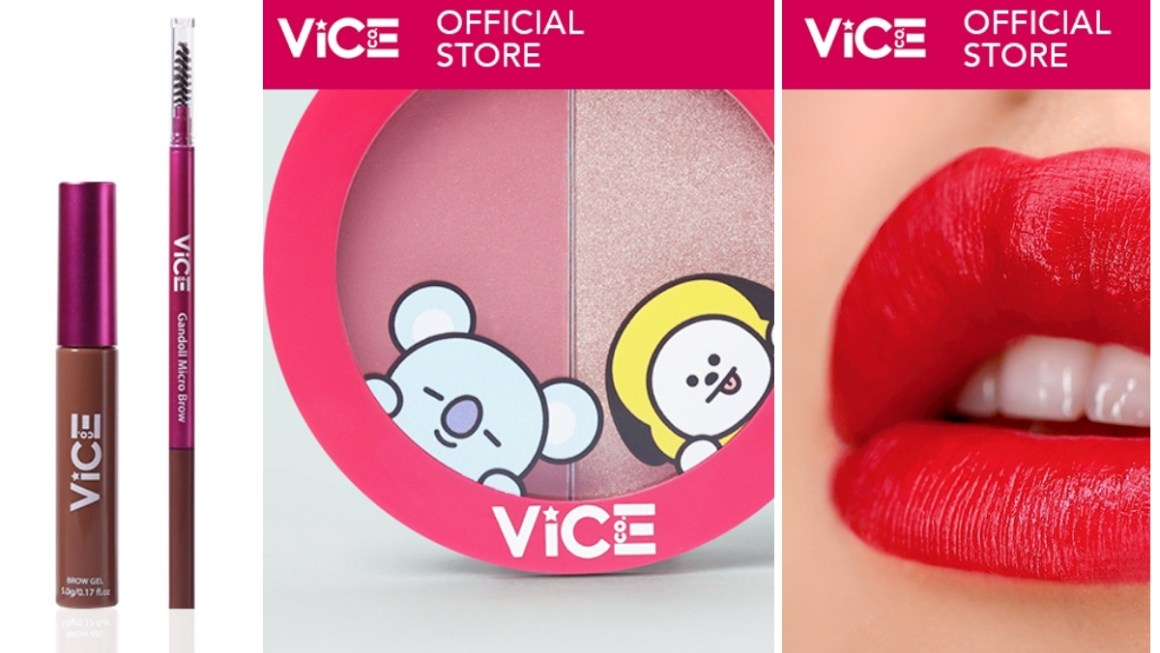 Buy 3 for 300 or Buy 1 Take 1 on Vice Cosmetics Sale on Shopee