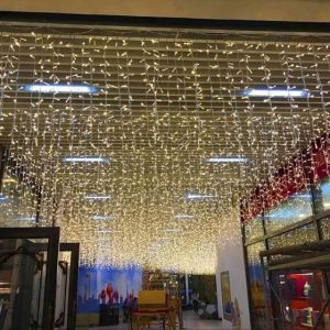 Christmas Decorations Curtain Lights