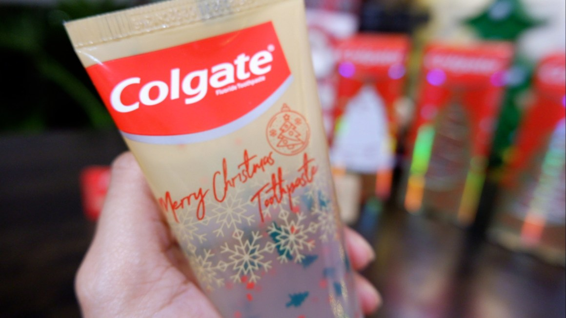 Colgate Merry Christmas Toothpaste