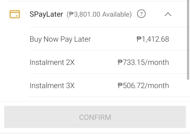How to pay your SPayLater Bill How myc is interest on SpayLater
