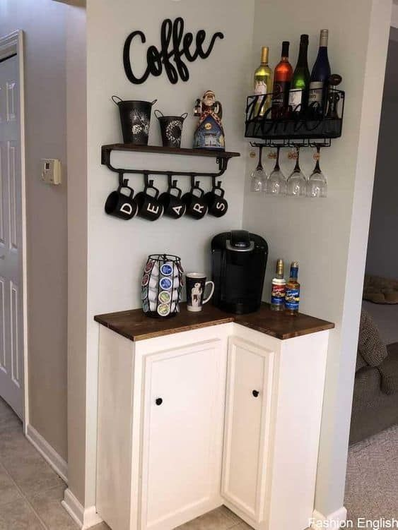 coffee nooks home features