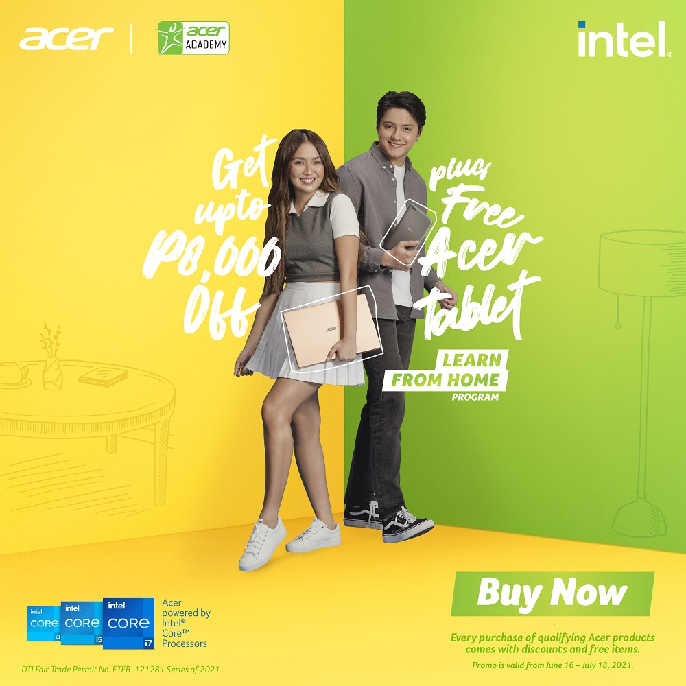 Acer's Learn From Home