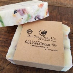 Nebraska Wildflower Soap