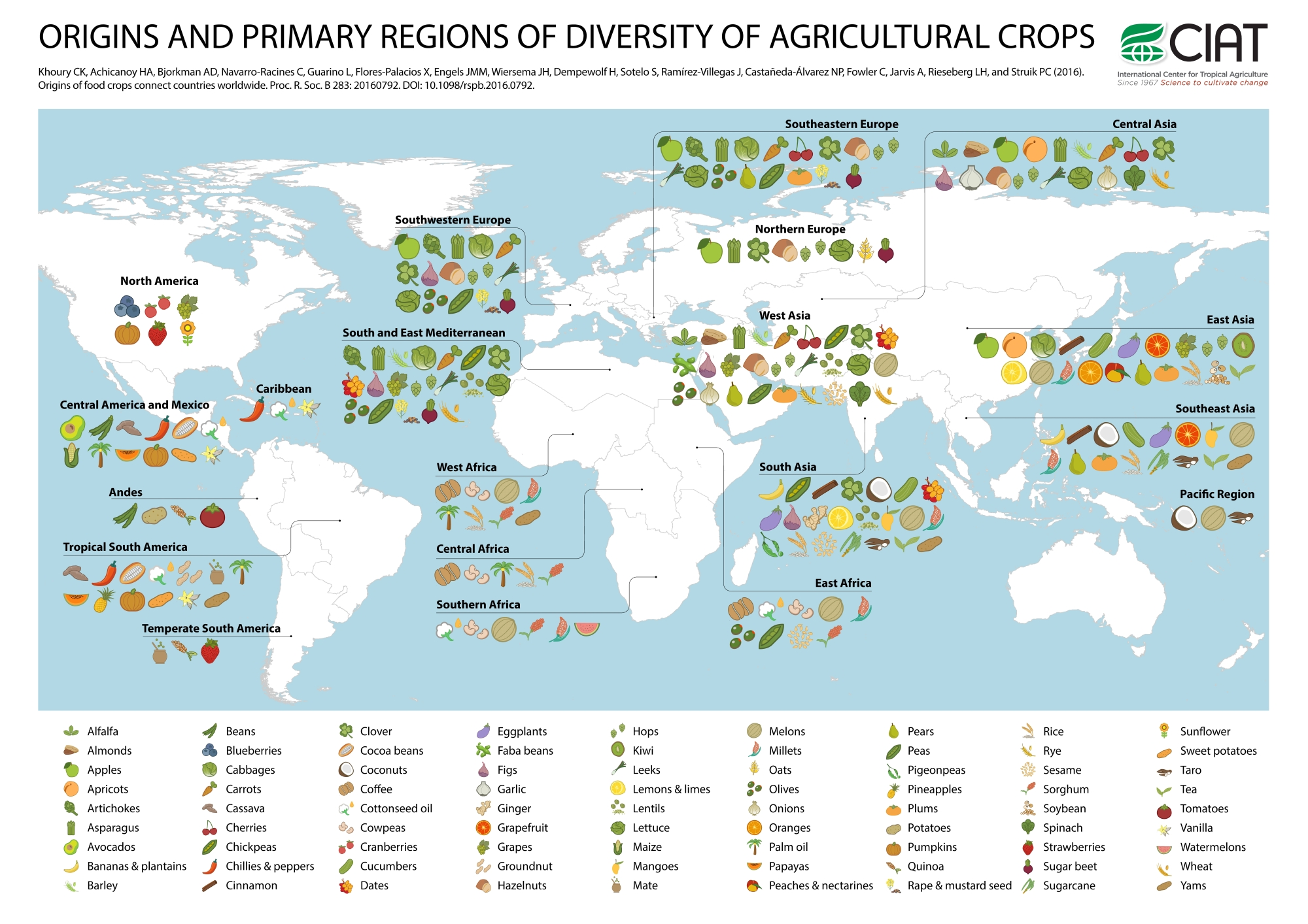The Origins Of Different Crops