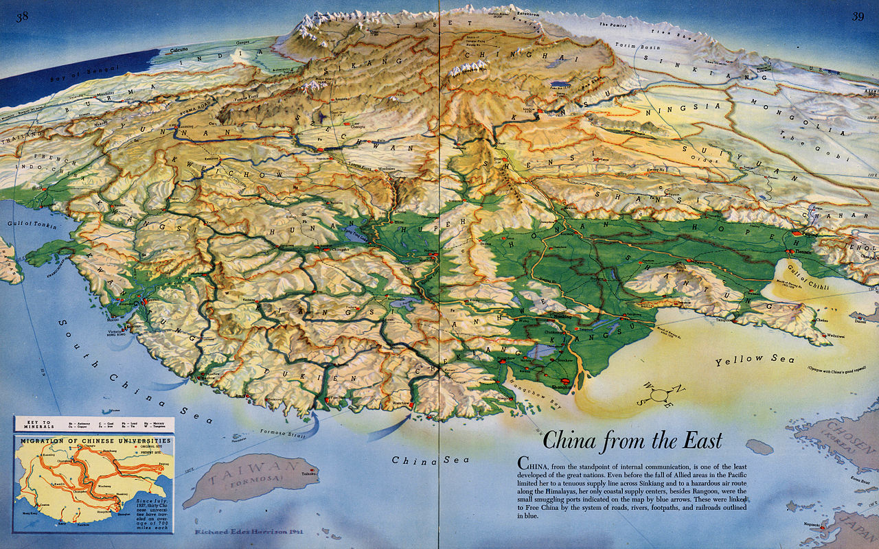 China From The East