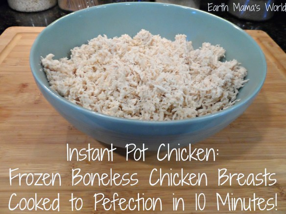 How to Cook Frozen Chicken in an Instant Pot