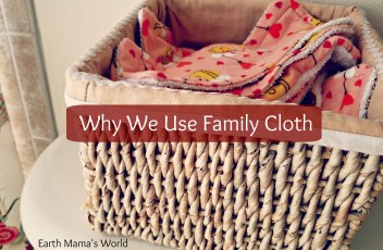 Why We Use Family Cloth