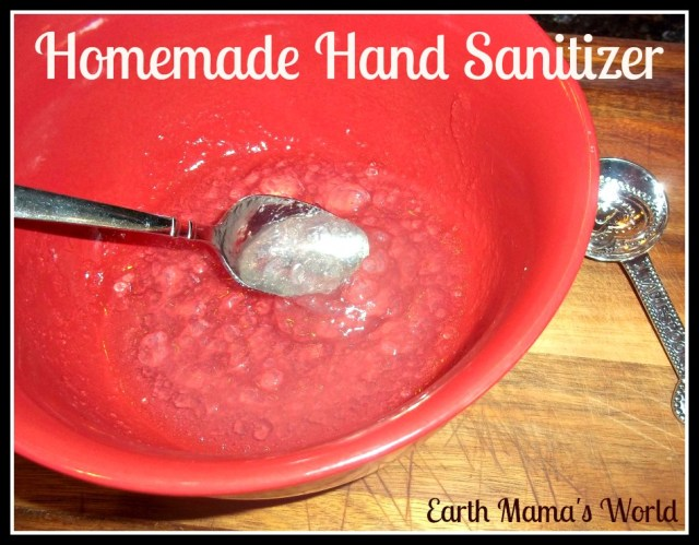 Homemade Natural Hand Sanitizer