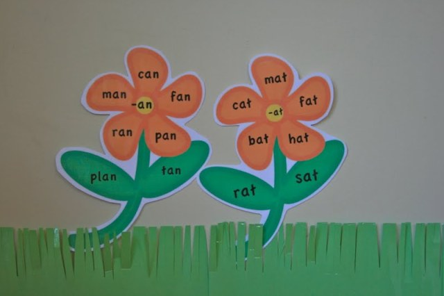 Sight word garden