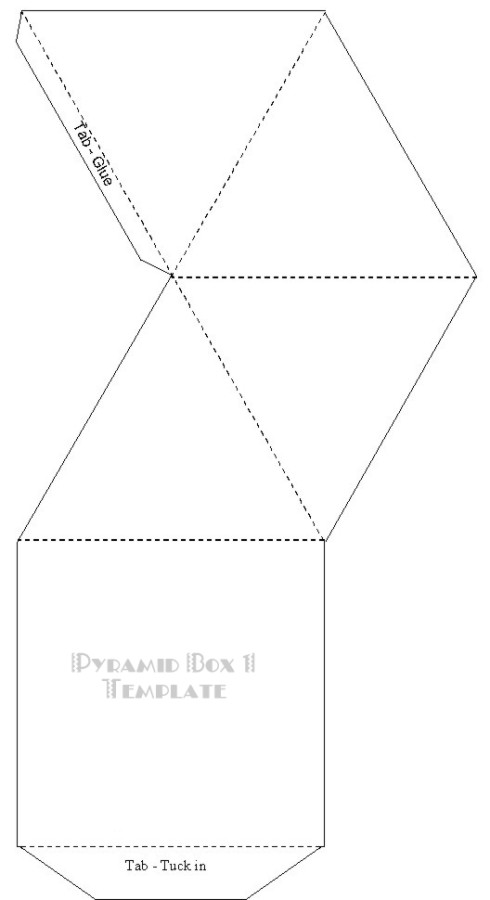 paper pyramid template