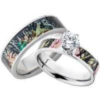 Camo Wedding Bands for Him and Her - Wedding and Bridal ...