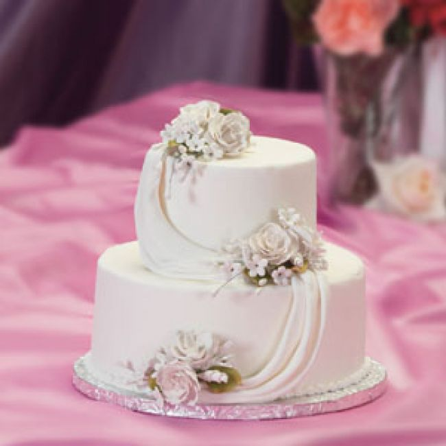 Small Simple Wedding Cakes  Wedding and Bridal Inspiration