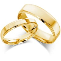 Gold Wedding Bands Sets His and Hers - Wedding and Bridal ...