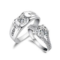 Matching Wedding Bands Sets His and Her - Wedding and ...