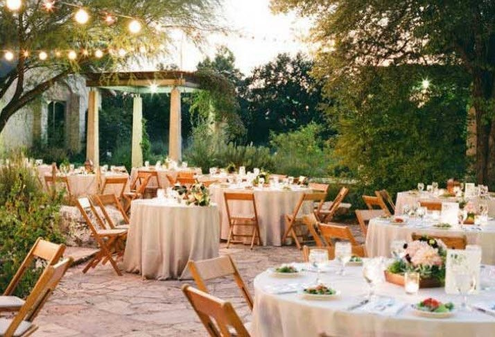 Outdoor Wedding Reception Decorations Ideas  Wedding and
