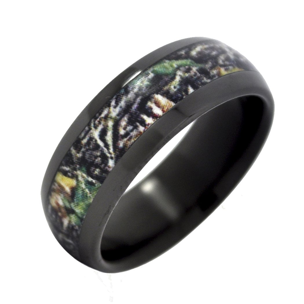 Black Camo Wedding Rings Wedding And Bridal Inspiration