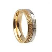 White and Yellow Gold Wedding Rings for Women - Wedding ...