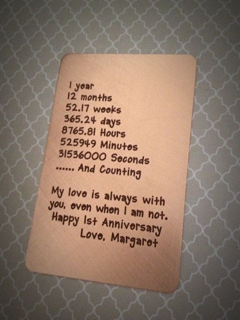 5 Year Wedding Anniversary Gift Ideas for Him  Wedding