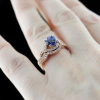 Vintage Colored Stone Engagement Rings - Wedding and ...