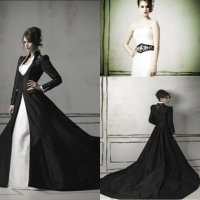 Black And White Wedding Dresses Pictures - Wedding and ...