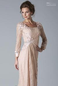 Long Sleeve Mother Of The Bride Gowns - Wedding and Bridal ...