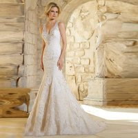 Ivory Color Wedding Dresses - Wedding and Bridal Inspiration