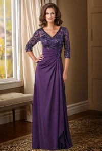 Purple Mother Of The Bride Dresses - Wedding and Bridal ...
