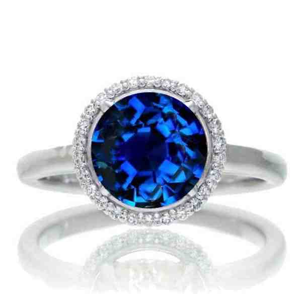 Sapphire Engagement Rings - Wedding And Bridal