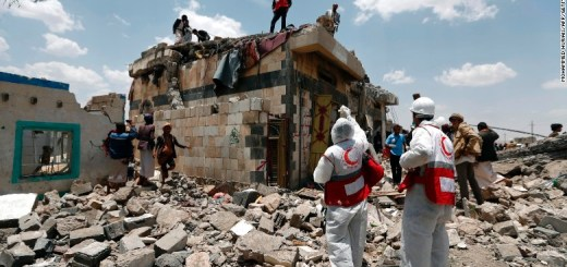 Dozens killed by an airstrike in Yemen