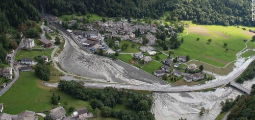 Eight people reported missing after the landslide at Switzerland