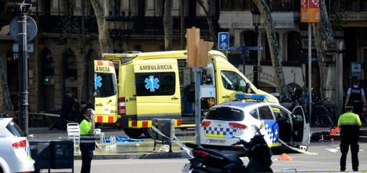 Las Ramblas attack: van hits crowd in tourist area of Barcelona