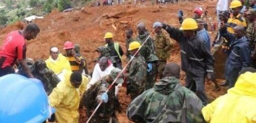 At least 600 people still missing in Sierra Leone following deadly mudslide