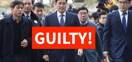 Korean Court Sentence Samsung Chief Jay Y. Lee to a 5-Year Jail Term