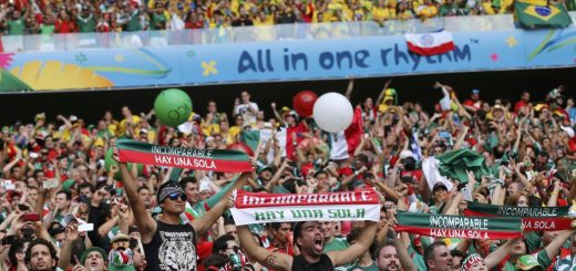 FIFA Investigates Alleged Gay Chant By Mexico Fans During Germany Match