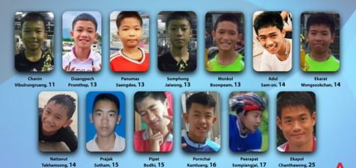All Thai Boys and Coach Rescued Successfully