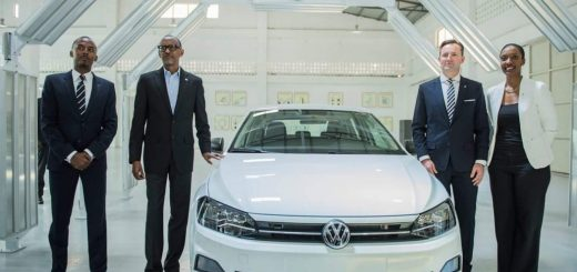 Volkswagen Opens Rwanda's First Car Assembly Plant