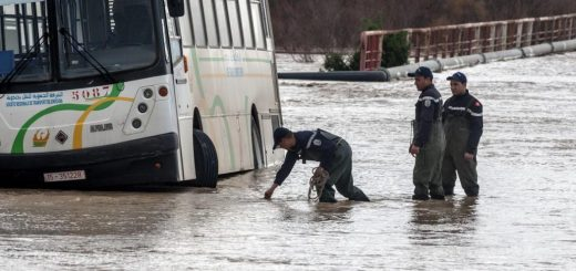 Tunisia Floods Leave Five Dead And Two Missing