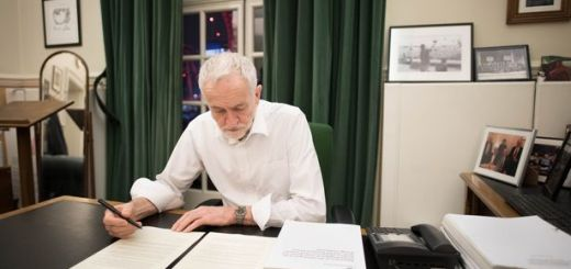"Brexit: Corbyn saying ""he will back her on a Brexit deal if it meets five demands"""