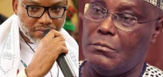 Biafra: IPOB leader Says PDP's Atiku Is From Cameroon
